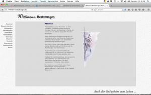 Wittmann-Bestattungen, Bonn; Homepage, Fotos